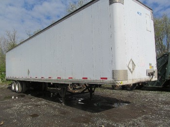 trl-835 - 2001 STRICK van trailer